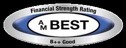 Financial Strength Rating AM Best B++ Good